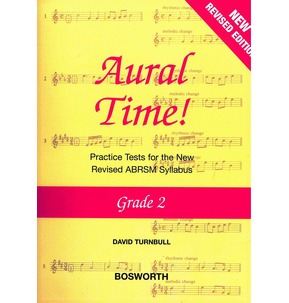 David Turnbull: Aural Time! Practice Tests - Grade 2