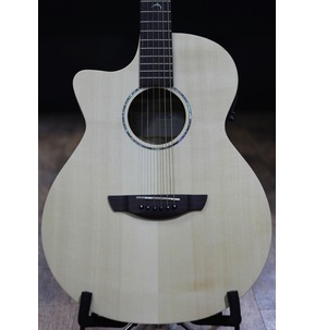 Faith FKVL Naked Venus Left-Handed Cutaway Electro Acoustic Guitar