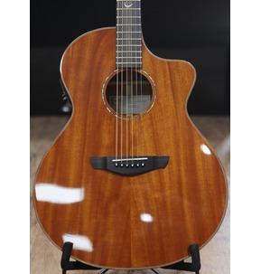 Faith FNCEMG Mahogany Neptune Cutaway Electro Acoustic Guitar & Faith Hard Case