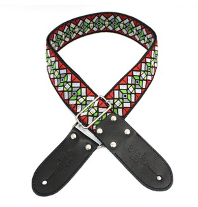 DSL JAC20-HAZE-RED Jacquard Weaving Guitar Strap