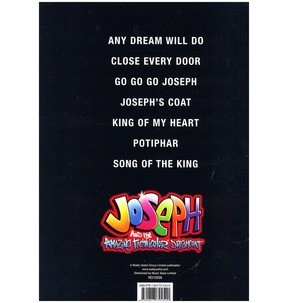 Joseph & The Amazing Technicolour Dreamcoat Vocal Selections