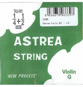 Astrea 4th Violin G String