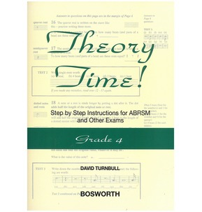 David Turnbull: Theory Time - Grade 4
