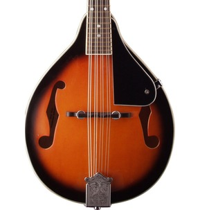 Stagg M20 Flat Back Mandolin - F holes