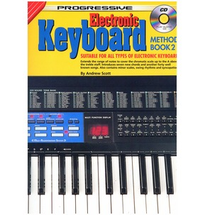 Progressive Electronic Keyboard Method: Book 2