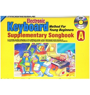 Progressive Keyboard Young Beginner Supplementary Songbook Songbook A