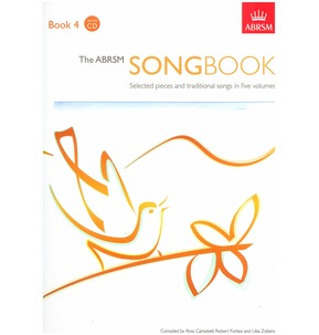 ABRSM Songbook - Book/CD Grade 4