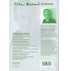 Alan Bullard Anthems: 10 Anthems for Mixed Voices - Sale
