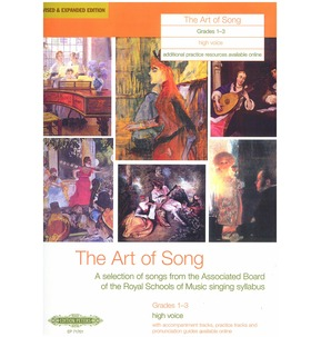 Art of Song Grades 1-3 - Various Vocal Ranges
