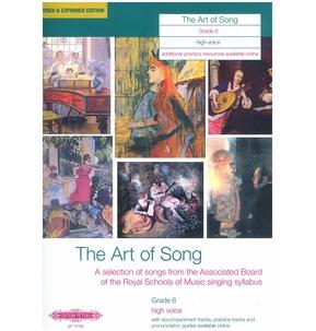 Art of Song Grade 6 - Various Vocal Ranges