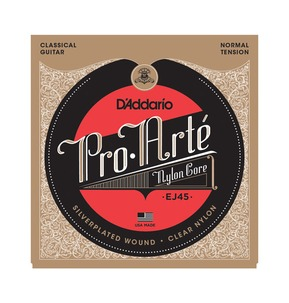 D'Addario EJ45 Pro-Arte Nylon, Normal Tension Classical Strings