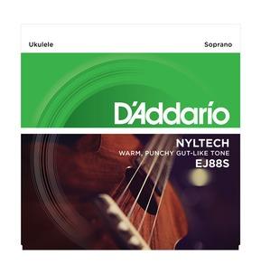 D'Addario EJ88S Nyltech Ukulele, Soprano Ukulele Strings