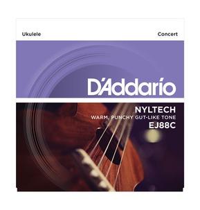 D'Addario EJ88C Nyltech Ukulele, Concert Ukulele Strings