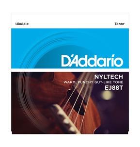 D'Addario EJ88T Nyltech Ukulele, Tenor Ukulele Strings