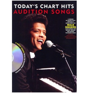 REDUCED! Audition Songs For Male Singers: Today's Chart Hits
