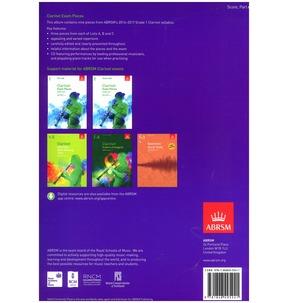Clarinet Exam Pieces Score/Part/CD 2014-2017 ABRSM Grade 1