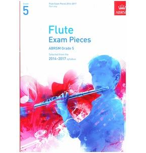 Flute Exam Pieces Graded Repertoire Part Only 2014-2017 ABRSM Grade 5