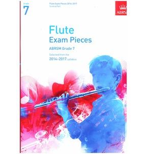 Flute Exam Pieces Graded Repertoire Score/Part ABRSM 2014-2017 Grade 7