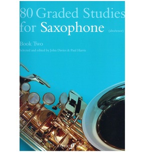 80 Graded Studies For Saxophone Book Two