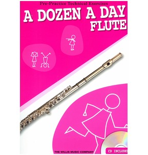 A Dozen A Day Flute with CD - SALE