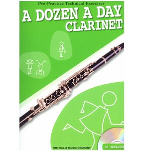 A Dozen A Day for Clarinet Including  CD