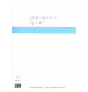 Johann Joachim Quantz: Sonata For Three Flutes (Barenreiter)