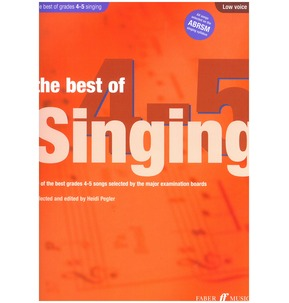 The Best Of Singing Grades 4-5 (Low Voice)