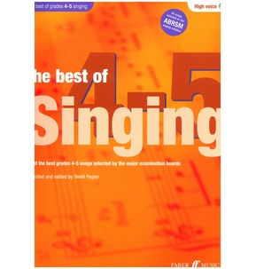 The Best Of Singing Grades 4-5 (High Voice)