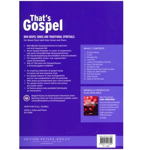 That's Gospel (Mixed Choir)