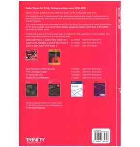 Trinity College London: Guitar Exam Pieces - Graded Books (2016-2019)