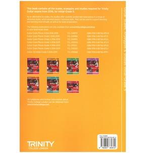 Trinity College London: Guitar & Plectrum Guitar Scales, Arpeggios & Studies - Various Grades