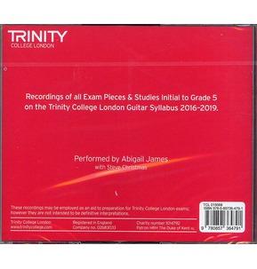 Trinity College London: Guitar CD - Initial-Grade 5 (2016-2019)
