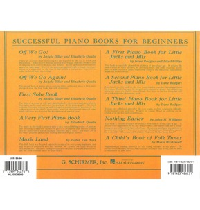 A Second Piano Book For Little Jacks And Jills