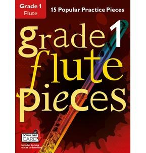Grade 1 Flute Pieces (Book/Audio Download)