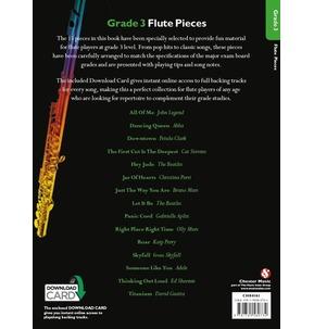 Grade 3 Flute Pieces (Book/Audio Download)