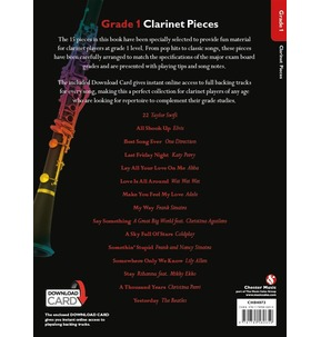 Grade 1 Clarinet Pieces (Book/Audio Download)