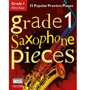 Grade 1 Alto Saxophone Pieces (Book/Audio Download)