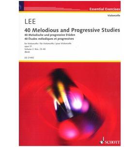 Lee: 40 Melodious & Progressive Studies for Cello