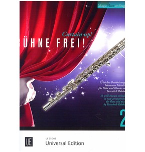 Curtain Up! 13 Well Known Melodies For Flute & Piano