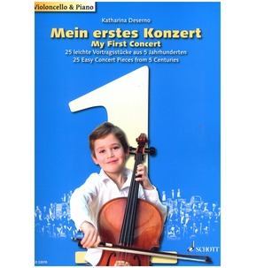 My First Concert for Cello & Piano
