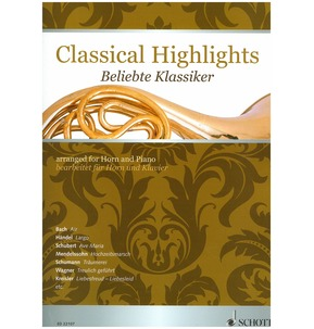 Classical Highlights for Horn & Piano
