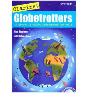 Clarinet Globetrotters + CD (Globetrotters for wind)