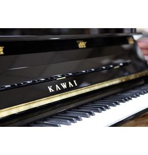 Kawai K300 Piano Polished Ebony & Chrome Hardware