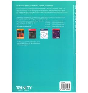 Trinity College London: Plectrum Guitar Pieces - Grades 3-5