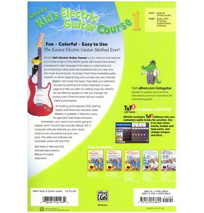 Alfred's Kid's Electric Guitar Course Book 1 (audio access included)