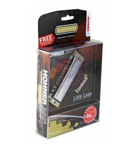 Hohner 360 Collector's Edition Harmonica Key C - Little Lady Anniversary Release