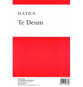 Haydn: Te Deum (Vocal Score)