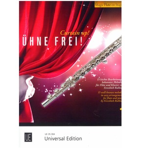 Curtain Up!  15 Well-known Melodies for Flute