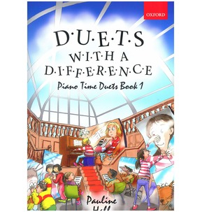 Pauline Hall: Duets With A Difference - Piano Time Duets Book 1