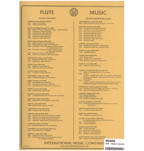 Antonin Dvorak: Sonatina In G Op.100 for Flute & Piano